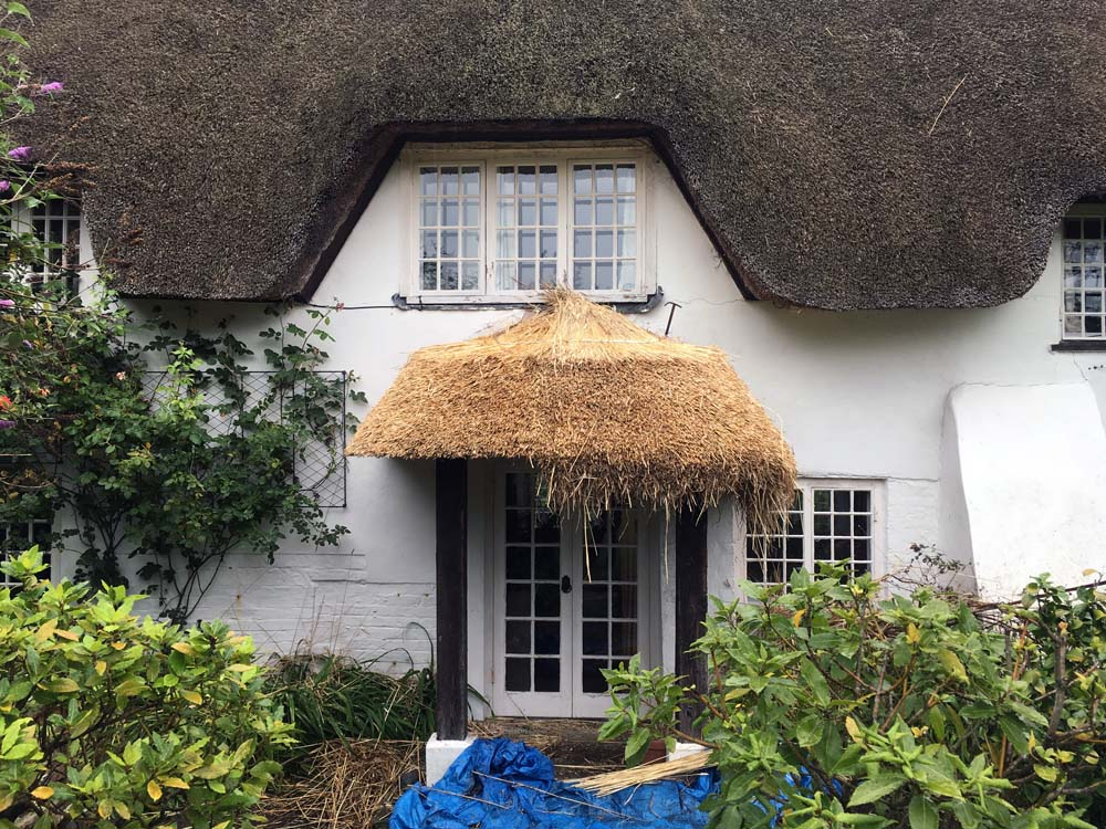 11. IMG_4114 - Winterborne Zelston - Porch 2 - During